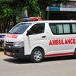 Пассажирский автобус столкнулся с автоцистерной в Индии