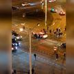 Несанкционированные акции протеста прошли вечером 23 сентября в Минске