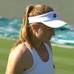 Александра Саснович проиграла в первом круге теннисного турнира в Юрмале