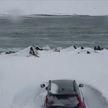 В Исландии сильные снегопады вызвали мощный сход лавин