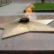 Сильный ветер потушил «Вечный огонь» в Гомеле