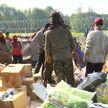Очередную партию гуманитарной помощи от белорусов получили афганские беженцы на границе