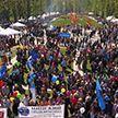 Праздник труда и весны отметили в Беларуси