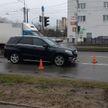 Водитель на «Мерседес» сбил пешехода в Минске