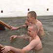 Православные верующие отмечают Крещение Иисуса Христа