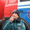 Віцебскія ратаўнікі зладзілі відовішчнае шоу для дзяцей і падлеткаў у Лядовым палацы