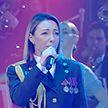 Праздничный концерт прошел во Дворце Республики в честь Дня милиции