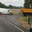 Семья погибла в ДТП на трассе в Каменецком районе