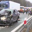 Массовое ДТП произошло в Польше: столкнулись 17 машин