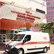 10-й больнице Минска подарили новую машину скорой помощи