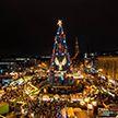 Самую большую новогоднюю ёлку в мире установили в Германии