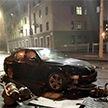 BMW врезалась в светофор в центре Минска