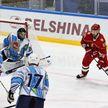 Команда Президента Беларуси с разгромным счетом победила хоккеистов Витебской области на любительском турнире