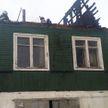 Из-за вспышки газа произошел пожар в Воложинском районе