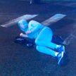Пьяный мужчина спал посреди проспекта Независимости в Минске