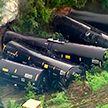 Поезд с этанолом сошёл с рельсов в Техасе