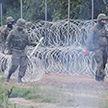 Поляки протестуют против установки заборов на границе с Беларусью