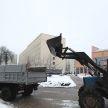 Коммунальные службы Минска работают в усиленном режиме и просят граждан помочь убрать снег