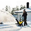 Гонки на снегоуборщиках устроили в Канаде (Видео)