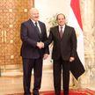 Александр Лукашенко и президент Египта посетят объекты Нового Каира