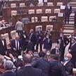 В парламенте Молдовы подрались парламентарии