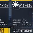Прогноз погоды на 4 сентября: днем будет тепло