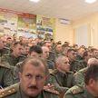 Министр обороны провёл лекцию на факультете Генерального штаба Вооруженных Сил Военной академии Беларуси