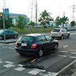 В Минске автомобиль сбил на велодорожке 10-летнюю девочку на самокате
