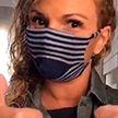 Легкий способ сделать маску для лица из платка и носка – ВИДЕО