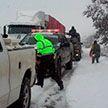 Снег неожиданно выпал в Мексике