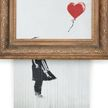 Изрезанную шредером картину Бэнкси «Девочка с воздушным шаром» продали на аукционе за $25 млн – она подорожала в 18 раз