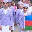 Слёт-конкурс юных инспекторов движения проходит в Бобруйске. Соревнуются даже в фигурном вождении велосипеда