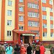 Новый дом для многодетных семей построили в Лепеле