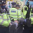 Экологические протесты в Лондоне: 90 человек задержаны