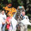 «Пламя мира»: огонь II Европейских игр продолжает путешествие по столице