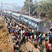 Железнодорожная катастрофа в Индии: восемь человек погибли