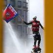 165-летие пожарной службы с размахом отметили спасатели МЧС: самые яркие моменты (видео)