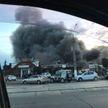 Городская ярмарка загорелась в Магниторске, есть угроза распространения