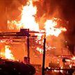 Пожар едва не уничтожил крупный туристический центр в Австрии