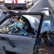 Трагедия на МКАДе:  один Volkswagen перестраивался, врезался в другой и отскочил в металлическое ограждение