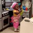 Смешной отзыв отца на «ресторан» его маленькой дочери стал вирусным
