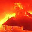 В Японии сгорел замок, служивший резиденцией императоров