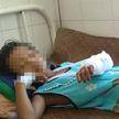 Отец и дедушка побили напавшего на девочку крокодила