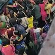 Давка произошла в метро в Мумбаи