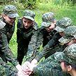 Под Брестом проходит военно-патриотическая игра «Зарница»