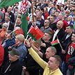 По всей стране проходят автопробеги, флешмобы и митинги «За Беларусь!»