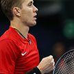 Егор Герасимов вышел в четвертьфинал теннисного турнира в Монпелье