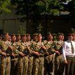 Новобранцы войсковой части 3214 приняли присягу