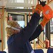 Общественный транспорт в Могилеве дезинфицируют после каждой смены