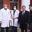 Депутаты Палаты представителей Национального собрания Беларуси передали в Могилевскую инфекционную больницу защитные костюмы